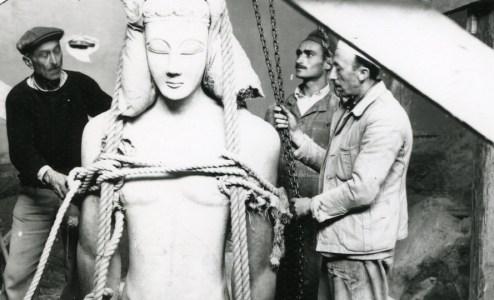 Από την κατάχωση των μνημείων στην ανάδυση της μνήμης στο Εθνικό Αρχαιολογικό Μουσείο