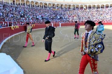 Fandi Castella y Manzanares Feria Albacete Toros  07