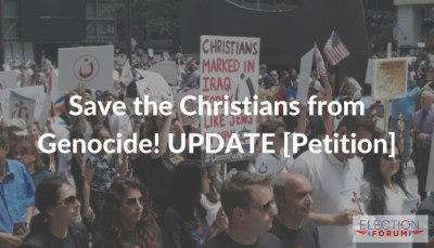 Save the Christians from Genocide! UPDATE [Petition]