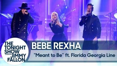 WATCH: Bebe Rexha & Florida Georgia Line On Tonight Show | Electric 94.9