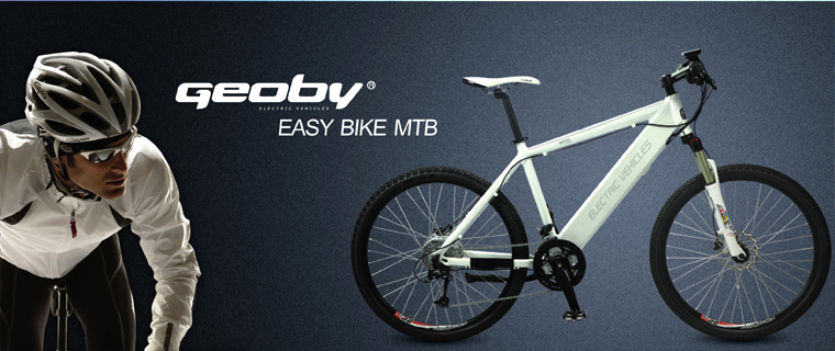 The Geoby Easy Bike MTB, suspiciously similar to the Stromer-ST1
