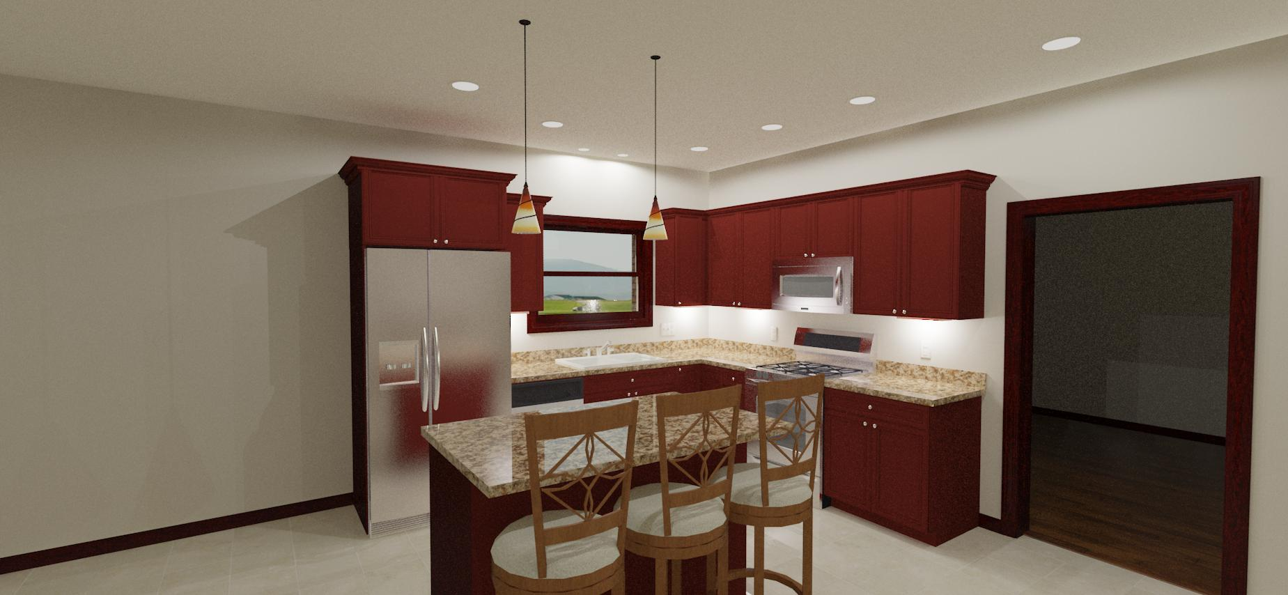 new kitchen recessed lighting layout recessed kitchen lighting New Kitchen Recessed Lighting Layout 1