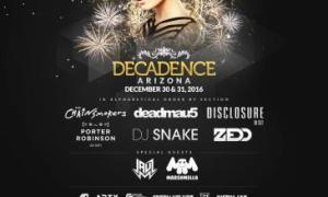 Decadence NYE 2016 Arizona