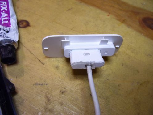 iPod adapter & cable: reverse