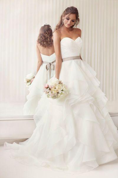 20 Elegant Simple Wedding Dresses of 2015 - BridalTweet ...