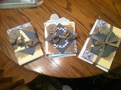 Wedding Card Coffee Table Book: DIY Display Idea
