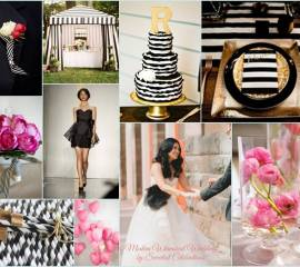 modern-whimsical-wedding-black-white-gold