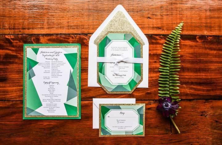 Styled Shoot: Gemstone Themed Wedding