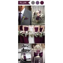 Swanky Purple Colors That Go Well Purple Wedding Colors Weddinginvites Colors That Go Well Grey Wedding Color Ideas Different Shades Purple Clos Plum Purple