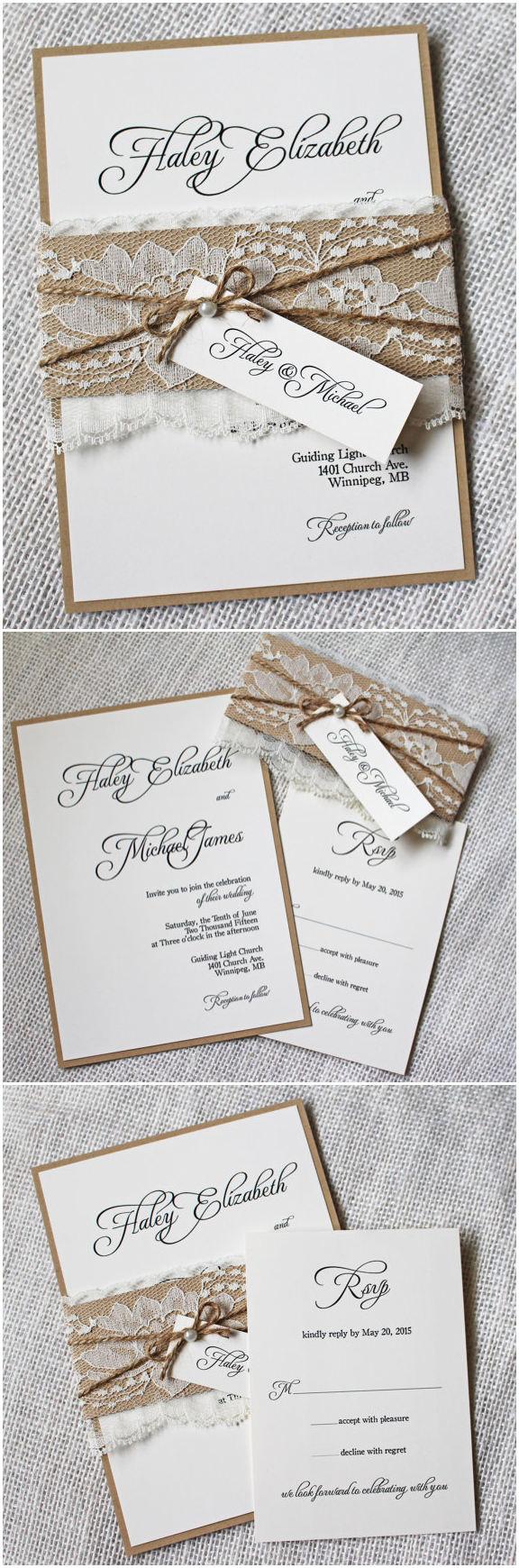 Fullsize Of Rustic Wedding Invitations