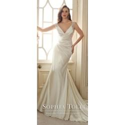 Small Crop Of Satin Wedding Dresses