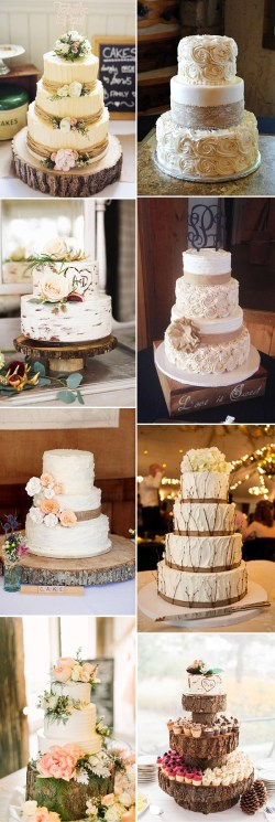 Small Of Rustic Wedding Cakes