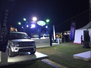 Land Rover Activation Event