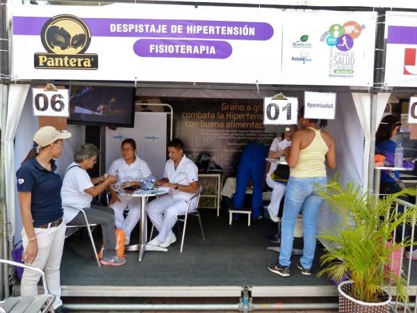 DESPISTAJE DE HIPERTENSION Y FISIOTERAPIA