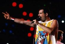 Freddie Mercury, Queen, Leadsänger, 1980 / Freddy, Pop, Rock, Musik, music, concert, Konzert, Auftritt, Personen