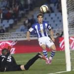 Pablo Hervías fue lo único positivo de la derrota frente al Getafe