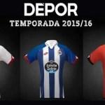 El Deportivo presenta sus nuevas equipaciones 2016 (Foto)