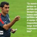 """Valverde confía ciegamente en el equipo para ganar """"su final"""""""