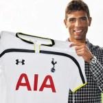 OFICIAL: Fazio posa con su nueva camiseta