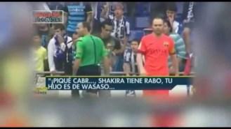 La afición del Espanyol se acuerda de Piqué y Shakira con sus cánticos (Vídeos)