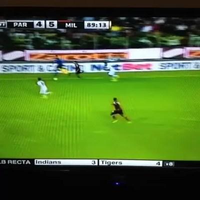 """La enorme """"anchoa"""" de Diego López en el AC Milan (video)"""