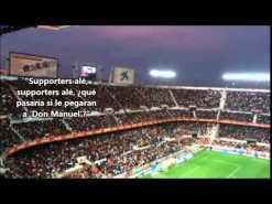 Los Biris versionan la polémica canción de los Supporters contra la ex pareja de Rubén Castro (video)