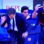 Así celebraron Luis Enrique y Ter Stegen el penalty parado por Bravo (Foto)