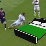 Boateng elige el mejor 'meme' de su 'rotura de cadera' ante Messi (Foto)