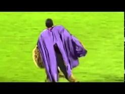 Pillan a la mascota del Austria Viena borracha en pleno partido (Vídeo)
