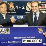 """China alucina con la victoria de la Real Sociedad frente a """"los merengues"""""""