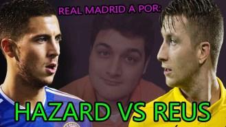 Reus Vs. Hazard: ¿ Quien es mejor para el Real Madrid ? (video)