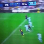 Video Gol: Messi pone el 4-0 ante el Granada CF (video)