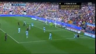 Vídeo Gol: Rakitic hace el 2-0 ante el Granada CF