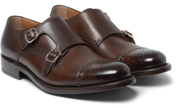 Sapato Monk Strap Masculino