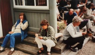 Worshop. Lisbeth Peterson och Marianne Enge