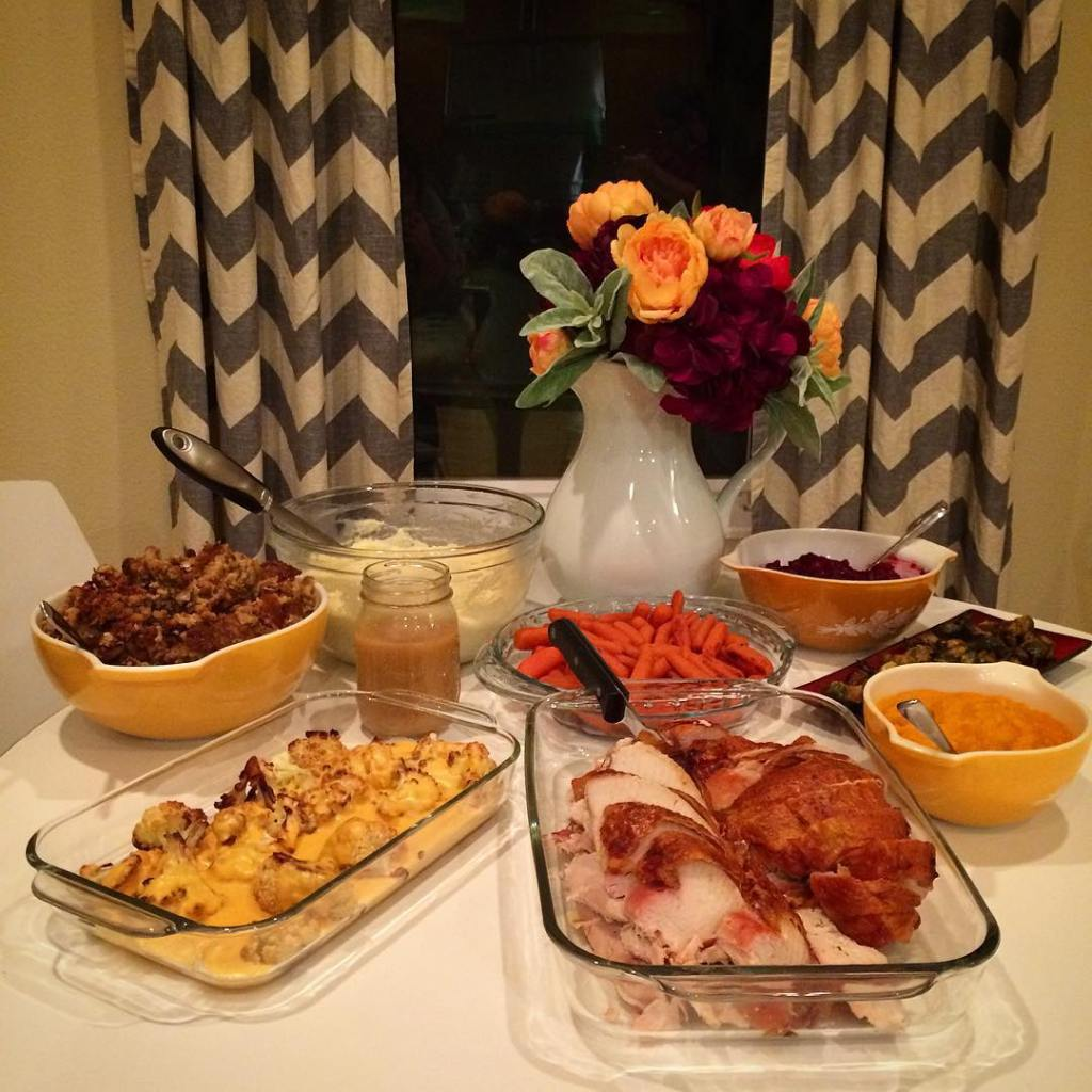 Thanksiversay dinner success! Leftovers for DAYS! happythanksgivingeveryone