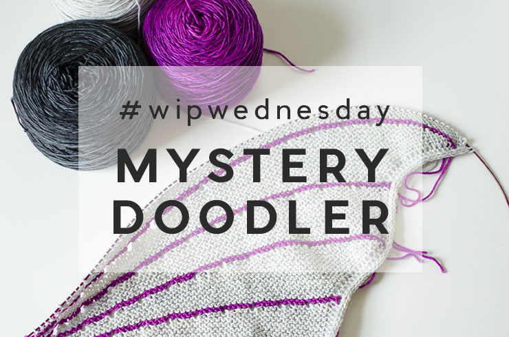 WIP Wednesday | Stephen West's The Doodler