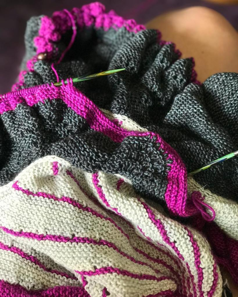 sundays are for a lap full of knitting and hellip