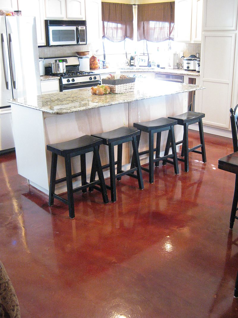 comconcrete kitchen floor concrete kitchen floor Decorative Concrete Overlays Atlanta Elite Crete Atlanta