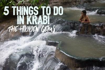5 Things to do in Krabi: The Hidden Gems - Elite Jetsetter