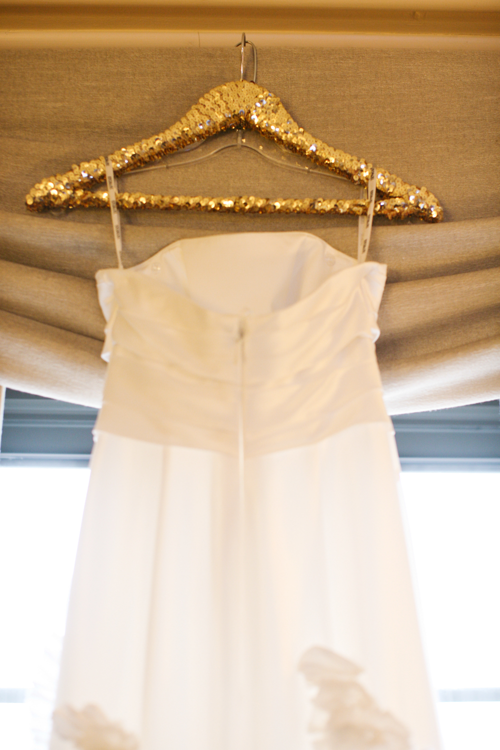 gold glitter wedding dress hanger glitter wedding dress Gold Glitter Wedding Dress Hanger Elizabeth Anne Designs The Wedding Blog
