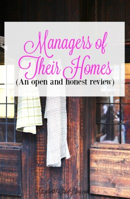 From the Bookshelf:  (MOTH) Managers of Their Homes