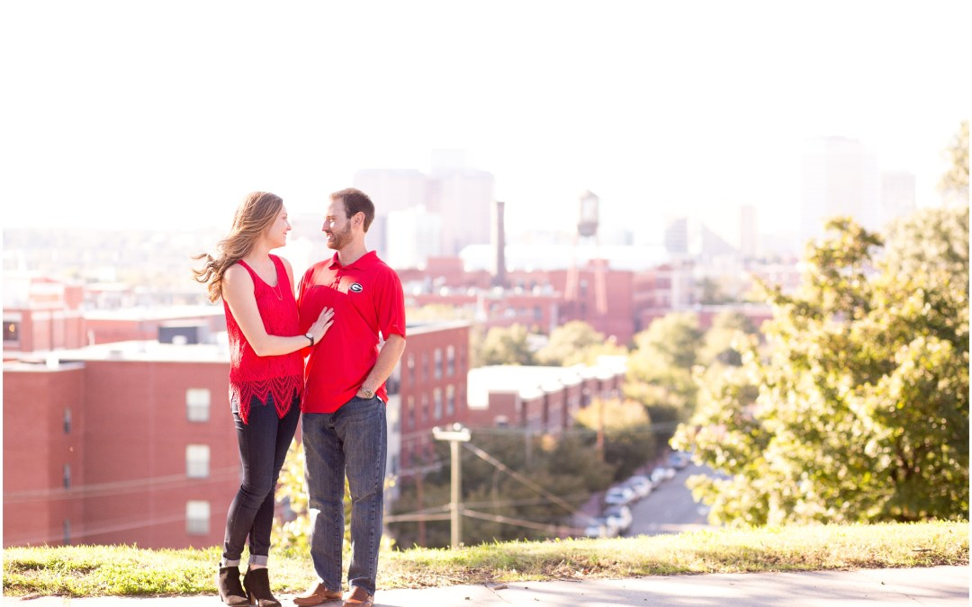 Meagan and Kyle's engagement session sneak peek