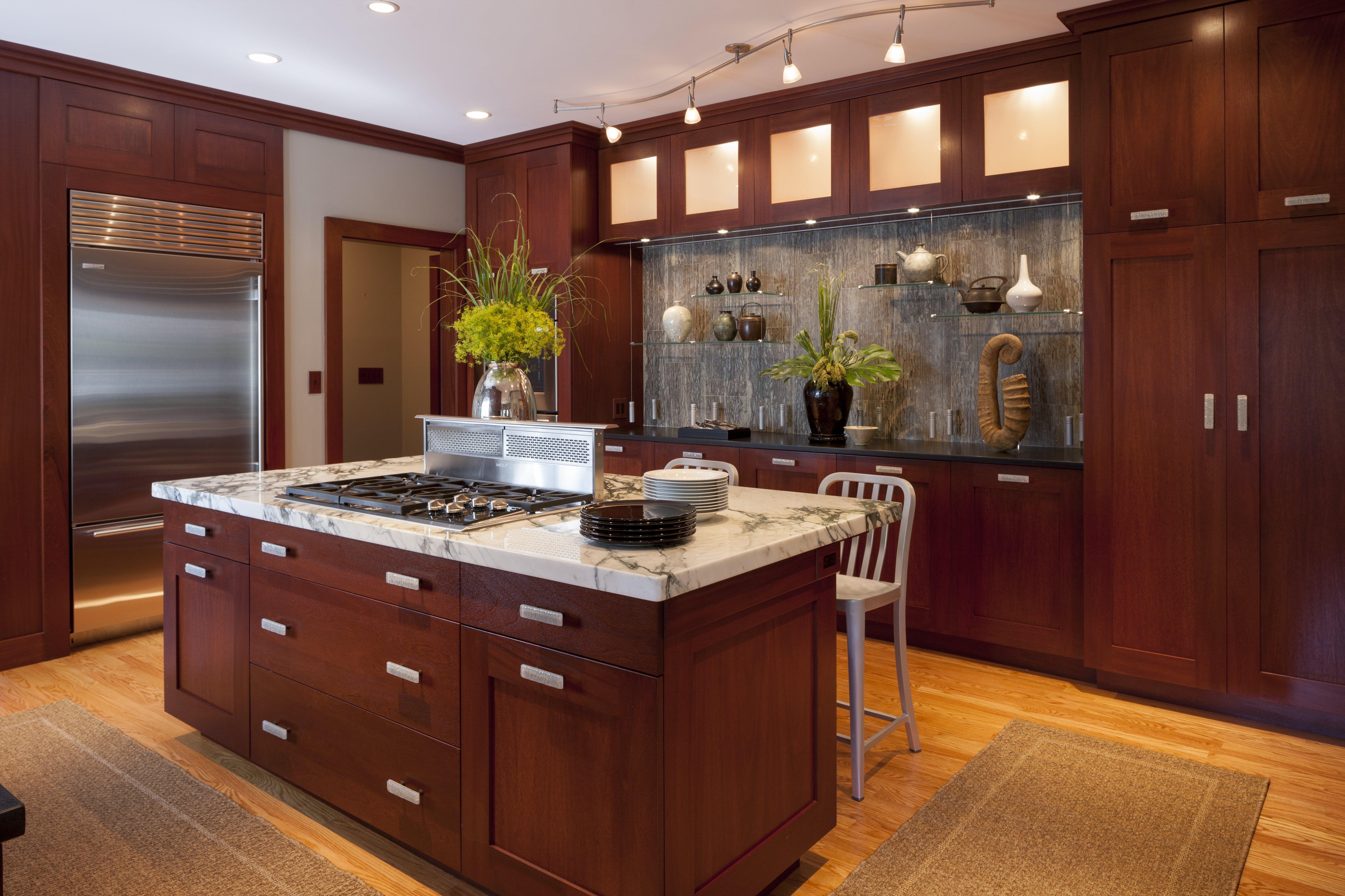 this kitchen designed by boston interior designer elizabeth swartz interiors features layered lighting that utilizes task ideas o