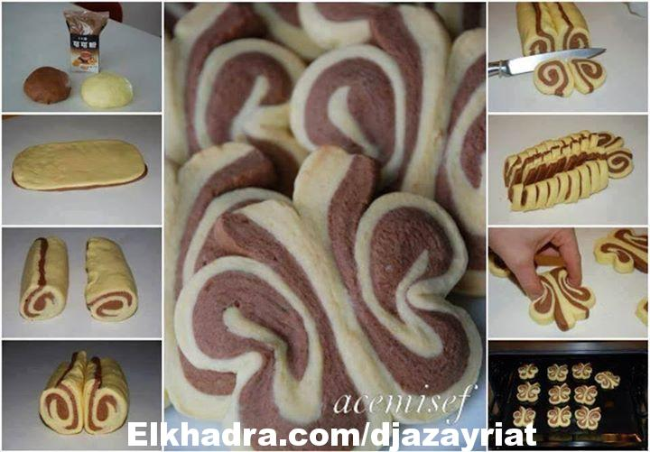 حلويات العيد :صابلي الفراشة