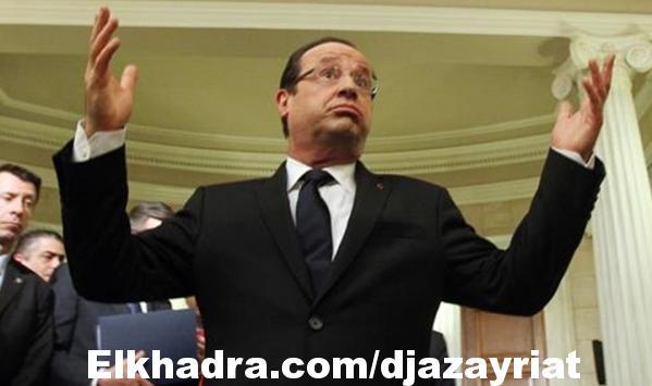 #فيديو : مواطن فرنسي يرفض مصافحة رئيس هولاند