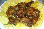 بطاطا بالدجاج في الفرن