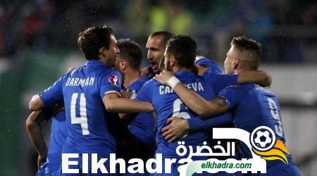 يورو 2016 : منتخب ايطاليا يتعادل مع مضيفه بلغاريا بهدفين لكل فريق