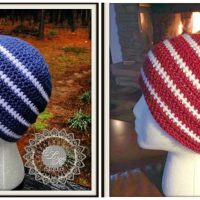 Hunter's Run - Free Crochet Beanie Pattern