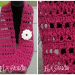 Fresh Air – A Free Crochet Summer Scarf